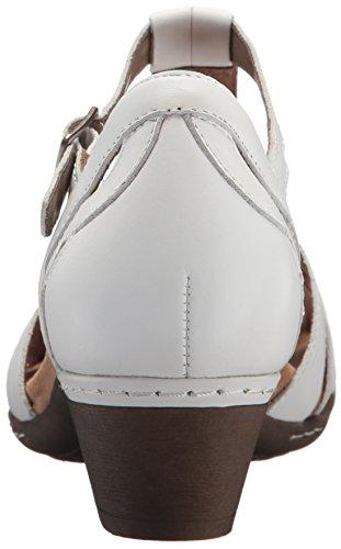 Sandalo Pelle Collina Nera In Abbott Curve Bianca Donna T Cobb q4pAw