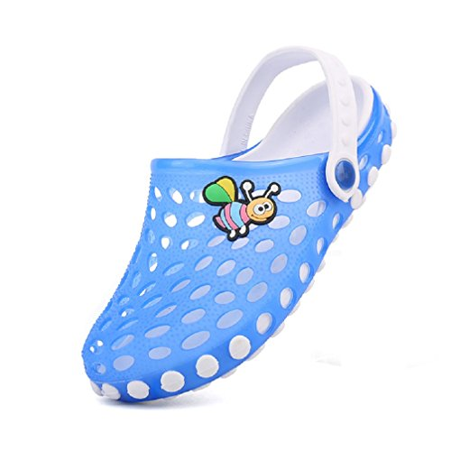 f19c6785bb005 Bakerdani boy¡¯s girl¡¯s Lovely Closed Toe Slippers Shoes Water ...