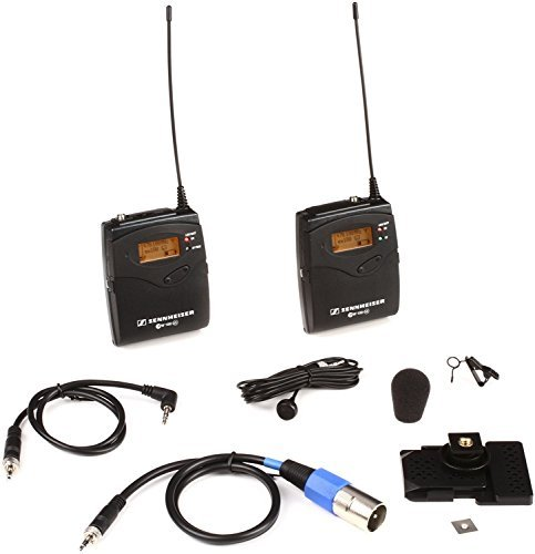 Sennheiser EW 122P G3 - A-1 Band, 470-516 (Sennheiser Lapel Microphone)