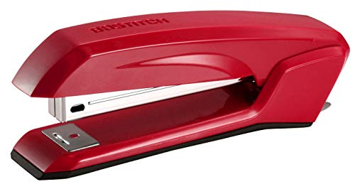 Bostitch Office B210R-RED Bostitch Ascend 3 in 1 Stapler with Integrated Remover & Staple Storage, Red (B210-Red)