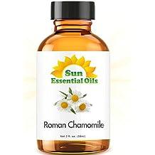 Chamomile (Roman) (2 fl oz) Essential Oil 100% Pure -- Best 2 ounces (59ml) -- Sun Essential