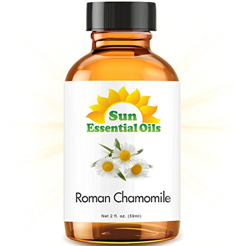 Chamomile (Roman) (2 fl oz) Essential Oil 100% Pure -- Best 2 ounces (59ml) -- Sun Essential