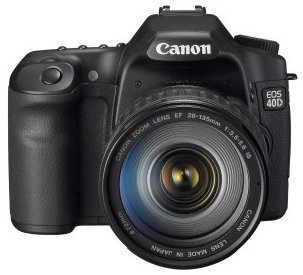 Canon EOS 40D 10.1MP Digital SLR Camera with EF 28-135mm ...