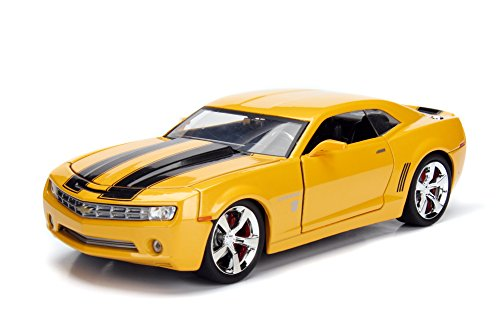 Car Concept Camaro (Jada 99382 Die-cast Model Toy, Yellow)