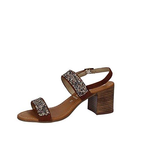 Shoes Grace Sandalias Marròn Altos 31508 Mujeres BRqxdpR