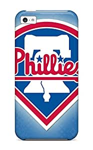 New Style philadelphia phillies MLB Sports & Colleges best iPhone 5c cases 4897002K179728154
