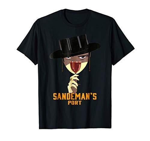 Sandeman's Port Vintage Wine Advertisement Art Deco T-shirt (Best Portuguese Port Wine)