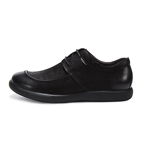 Primavera 10 Scarpe In 7 Scarpe inch Oxford Pizzo Estate 5UK EU42 Low Casual CM 26 5 label WKNBEU Pelle 43 Da Nero Moda Business Testa Top Rotonda Derby Uomo Formale In TSxwqXfa