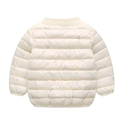 Cotton Beige Jacket Warm Winter Unisex Baby Toddler Boy Outwear Puffer Fairy Girl Baby T7v1wxq