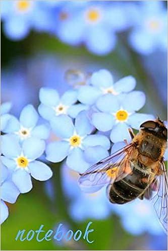 Descargar PDF Gratis Notebook: Bluebell Bee Homework Book Notepad Notebook Composition And Journal Gratitude Diary