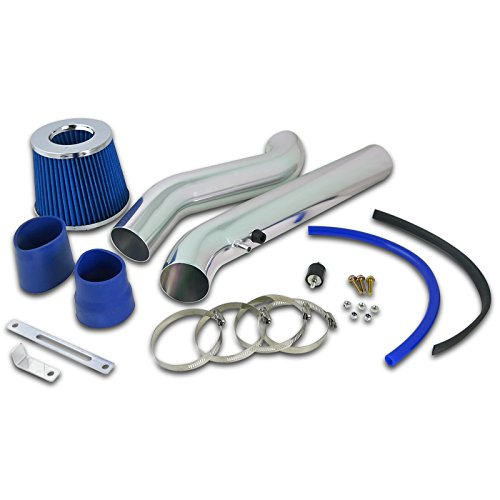 Honda Civic Sedan Gas Mileage - Spec-D Tuning AFC-CV96EXBL-AY Honda Civic EX HX 1.6L L4 Cold Air Intake+Blue Filter