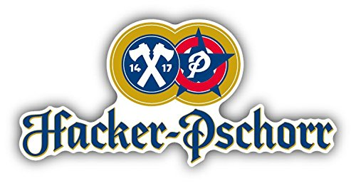 Hacker-Pschorr Germany Beer Drink Car Bumper Sticker for sale  Delivered anywhere in USA