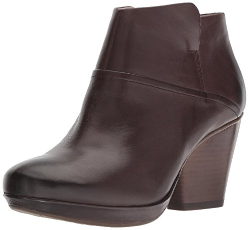 Dansko Women's Miley Ankle Boot, Chocolate Burnished Calf, 40 M EU (9.5-10 US) ()