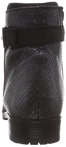 Caprice 25351 - botas de cuero mujer negro - Schwarz (BLK NU/BLK SNA 012)