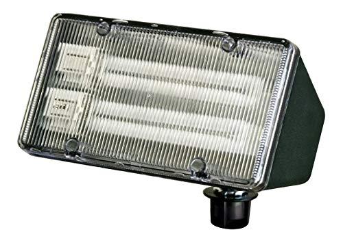 Dabmar Lighting DF5850-G Lexan Flood Light, 26W 2-PL13 120V, Green Finish