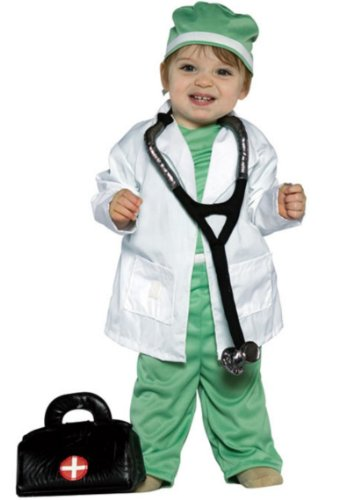 Future Doctor Toddler Costume - Infant Large by Rasta Imposta (Image #1)