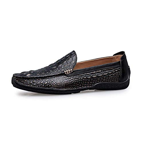 Hhgold color De zapatos Cuero B Tamaño B Formales Diario Planos otoño Hombre Zapatos 39 Confort negocios Calzado Conducción oficina calzado Primavera Perezosos mocasines UIr5xPqUw