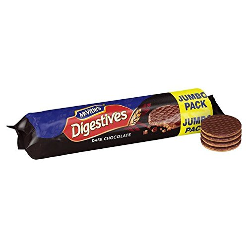 McVitie's Dark Chocolate Digestives Jumbo Pack - 500g