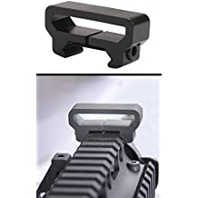 """Ultimate Arms Gear Machined Aluminum Sling Mount With System Rifle Shotgun Gun Mount Base - Fits Slings Up To 1 1/2"""" Wide"""
