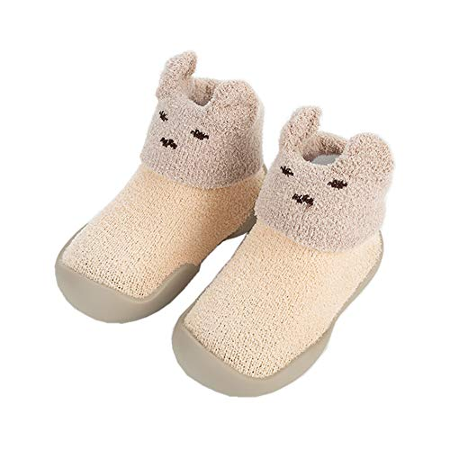HOWELL Baby Rubber Socks Non Slip Cotton Sock Shoes for Unisex Toddler Infant Boys Girls First Walker