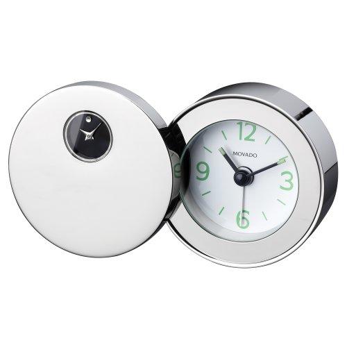 Movado Silvertone Travel Alarm ()