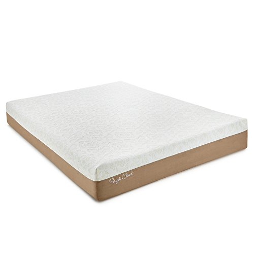 Perfect Cloud Memory Foam Mattress (Twin) - Atlas Gel-Plus 10-inch by Featuring New Gel Cool Visco For All-Night Comfort - Simmons Twin Mattress