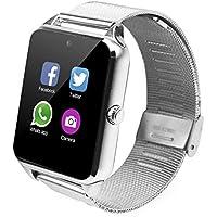 Relógio Smartwatch Z60 Celular Inteligente Touch Bluetooth Chip Ligações Pedômetro Câmera (PRATA)