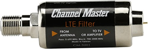 Channel Master LTE Filter Improves TV Antenna Signals by Channel Master