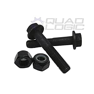 Polaris RZR 900 1000 Turbo M10 x 45 mm barra de rodillo jaula pernos y tuercas (Set) 7519906: Amazon.es: Coche y moto