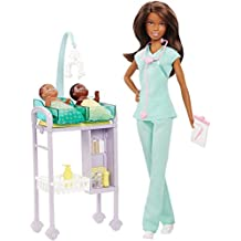 Barbie Careers Baby Doctor Doll and Playset - Brunette