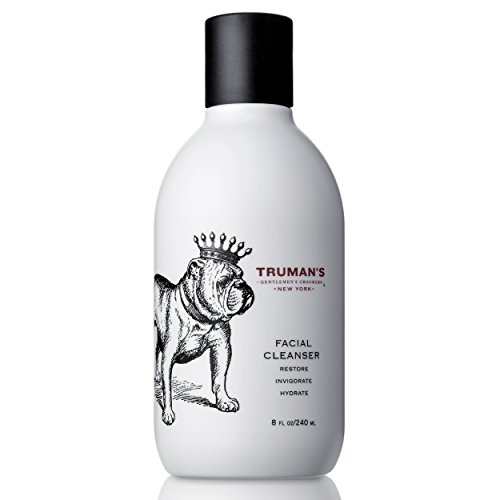 (Truman's Gentlemen's Groomers Men's Daily Facial Cleanser with Peppermint & Eucalyptus Oils, Hydrating & Invigorating, 8 fl. oz.)