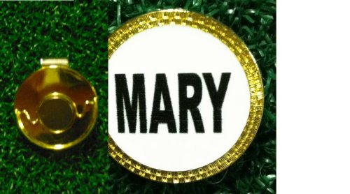 Gatormade Personalized Golf Ball Marker & Hat Clip Mary
