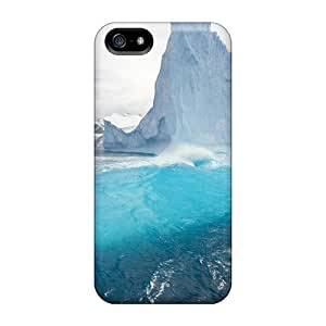 Iphone 5/5s GHnYFNm5807eVcuc Iceberg Reflection Tpu Silicone Gel Case Cover. Fits Iphone 5/5s