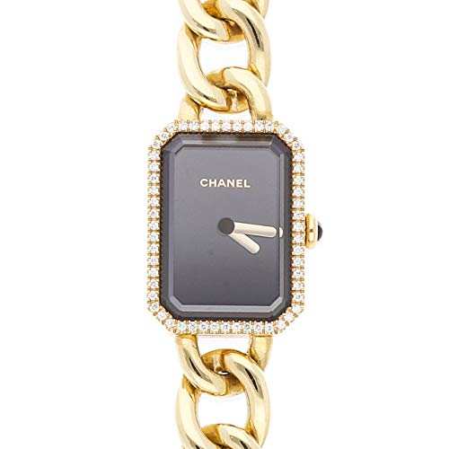 Chanel Premiere Quartz (Battery) Black Dial Womens Watch H3258 (Certified Pre-Owned)