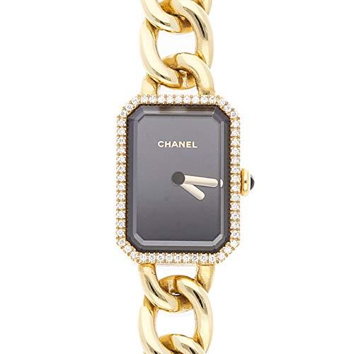 Chanel Premiere Quartz (Battery) Black Dial Womens Watch H3258 (Certified ()