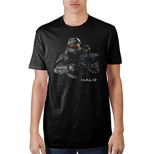 Bioworld Official: Halo Master Chief Black T-Shirt (Large)