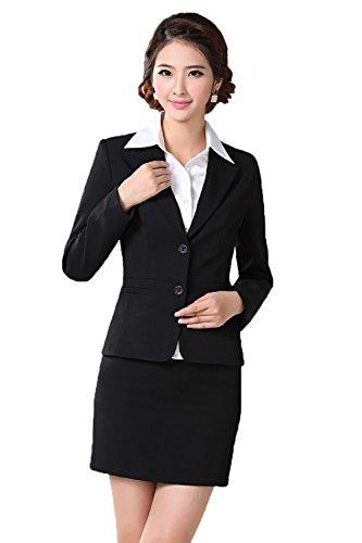 Women Blazer Casual Suit Plus Size Tailored Suit Maxi Sui...