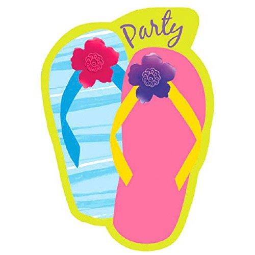 zle Dazzle Party Invitation Cards, 6.25