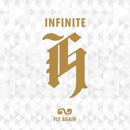 Infinite H [FLY AGAIN] 2nd Mini Album CD, PhotoCards, Booklet and Poster on Pack