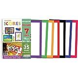 Novaprint ECCM00001, Bloco Para Educação Artística Moldura 35Folhas, Multicolor
