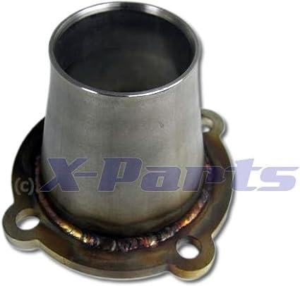 Hosenrohrflansch K03 / K04 Upgrade Lader 1, 8T 4-Loch Downpipe Flansch EDELSTAHL X-Parts