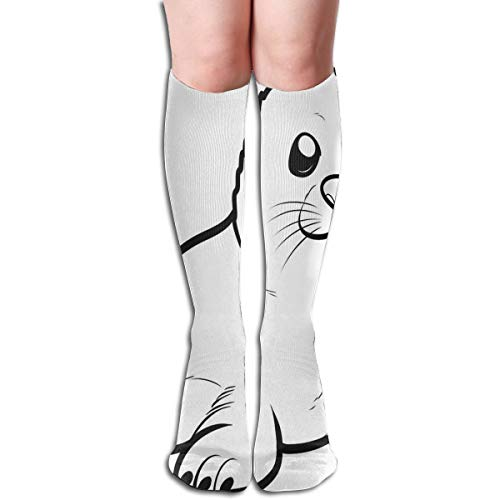 Socks A Seal Pup Unique Womens Stocking Gift Sock Clearance for Girls