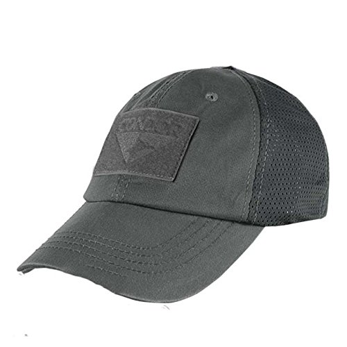 Condor Mesh Tactical Cap, Graphite