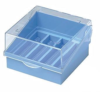 colore RTP//ETP-Microscopio O scatola contiene 100 Vetrini arancione Camlab plastica