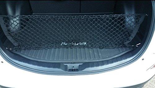 POZEL Envelope Style Trunk Rear Cargo Net Organizer for Toyota RAV4 (2003-present)