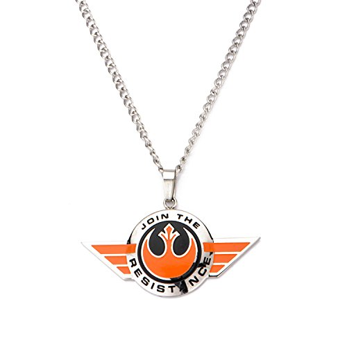 Star Wars VII: The Force Awakens Join The Resistance Pendant Necklace