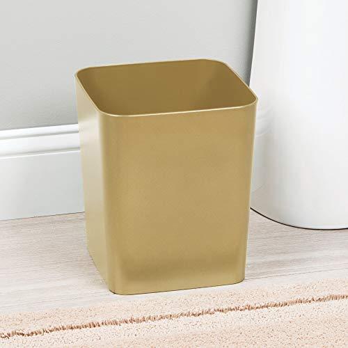 Lixeira Linha Casilla Interdesign Dourado