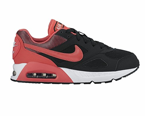 NIKE Kid's Air Max Ivo (GS), Black/Ember Glow, Youth Size 3.5