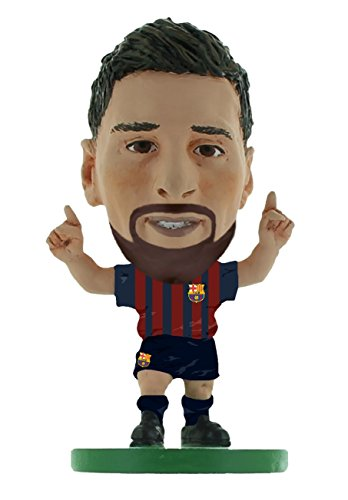 SoccerStarz SOC1059 Barcelona Lionel Messi-Home Kit (2019 Version) /Figuras, Color Verde