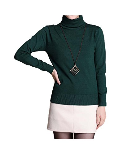 ARJOSA Womens Turtleneck Pullovers Sweaters